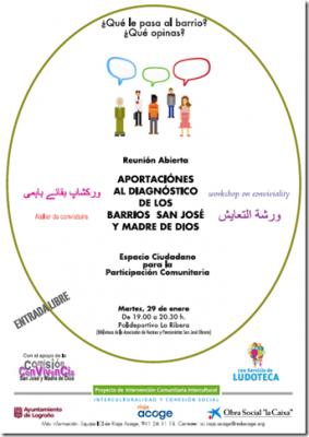 REUNION ABIERTA (ESPACIO CIUDADANO BARRIOS SAN JOSÉ - MADRE DE DIOS)